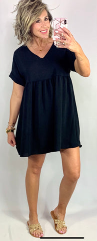 BEAUTIFUL DAY BABYDOLL DRESS/ SIZES SMALL- 2XLARGE