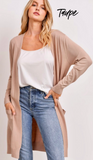 CALL ME AMAZING CARDIGAN/// AVAILABLE IN 4 COLORS