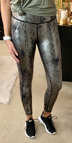 SNAKEPRINT LEGGINGS