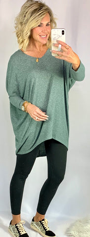 OVERSIZED DREAM TUNIC/ AVAILABLE IN 4 COLORS