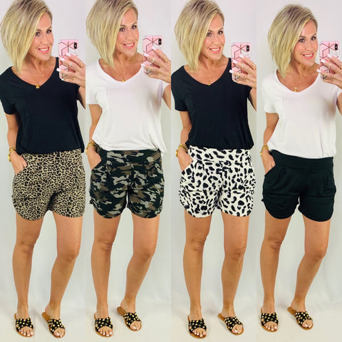 THE HAREM SHORTS/ AVAILABLE IN 4 COLORS