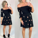 FOLLOW MY HEART FLORAL DRESS