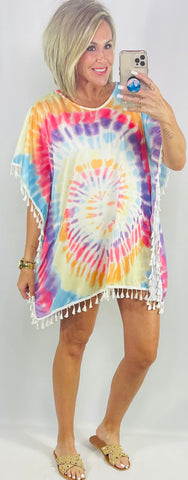 THE MAUI TIE DYE TUNIC