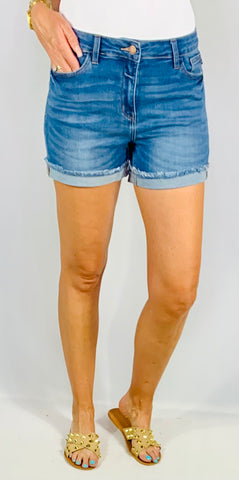 THE IVY CUFFED SHORTS