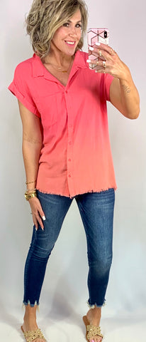 SEASIDE SPRITZER OMBRE TOP