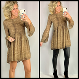 THE TABITHA LEOPARD TUNIC/DRESS