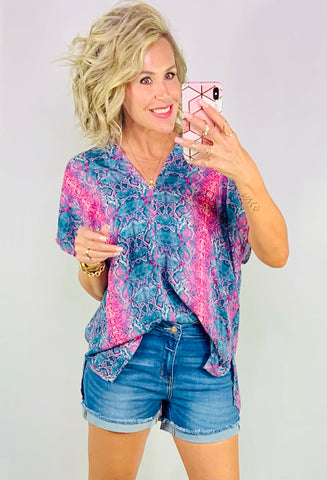 MALIBU DREAMS SHIFT TOP