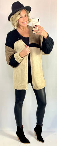 THE MADISON MOCHA CARDIGAN