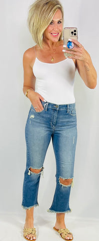THE LEXIE CROPPED DENIM