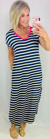 MADELINE STRIPED MAXI