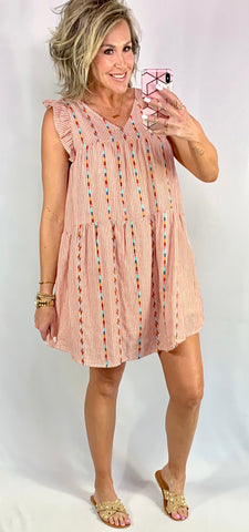 SANGRIA AND SUNSHINE KINDA DAY DRESS