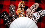BABE LEOPARD SOCKS/ 4 COLORS AVAILABLE