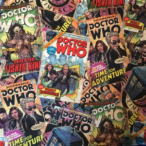 Dr Who - Peter Capaldi Comic Covers