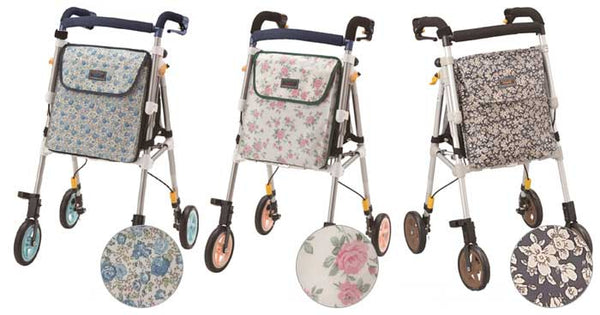 With One Rollator - Support Car Healthy One Light Colorful G ヘルシーワン・ライト カラフル G