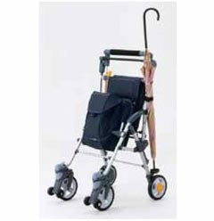 Maki-tech Rollator - Silver Car Carry Through N CS-10 シルバーカー キャリースルーンN CS-10