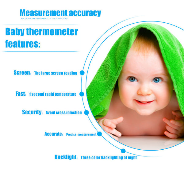 Forehead digital thermometer
