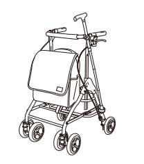 Kowa(Tacao F) Rollator - Walking Car WAW15 テイコブリトルハイ WAW15