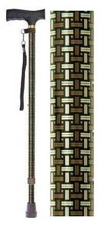 Welfan Cane - Dream Life Stick Patterned Telescopic Cane(Basic Type) 夢ライフステッキ 柄杖伸縮型 ベーシックタイプ