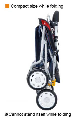 Maki-tech Rollator - Silver Car Noble Wide ENB-42DB ノーブルワイド ENB-42DB