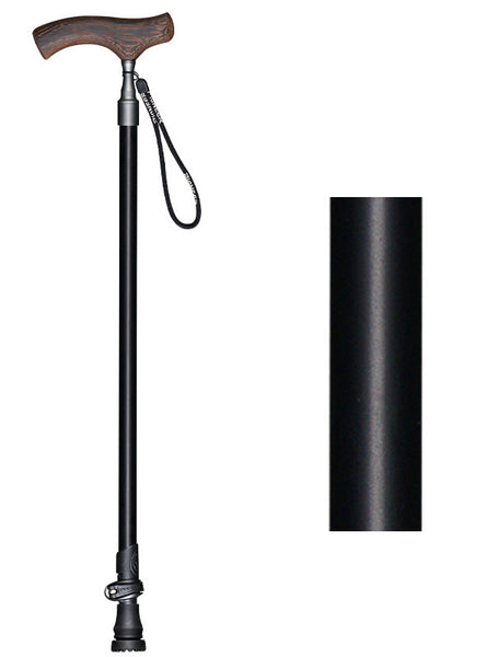 Pioneer Walking Cane - Aluminium Slim Neck Telescopic Cane