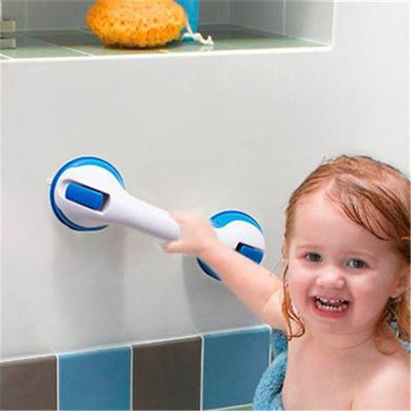 Strong Suction Handrail in Bathroom