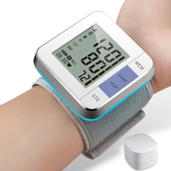 Portable Digital Wrist Blood Pressure Monitor