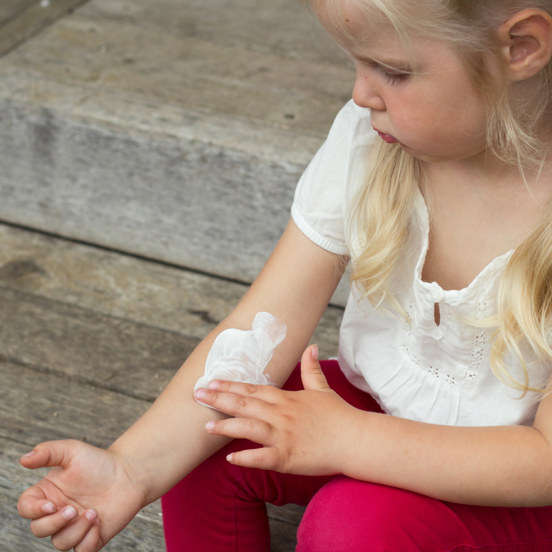 How to treat eczema naturally in children