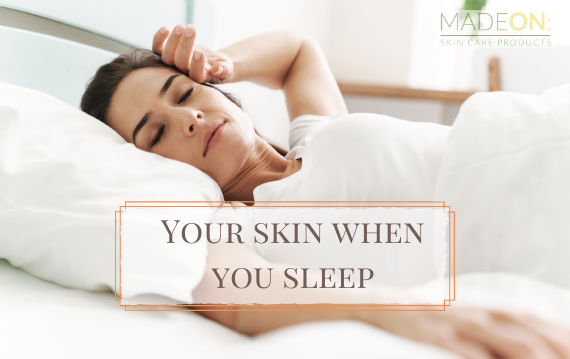 What Happens to your Skin when you Sleep?