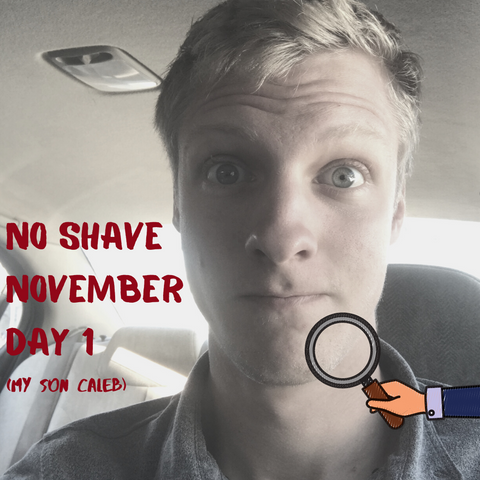 no shave november natural products