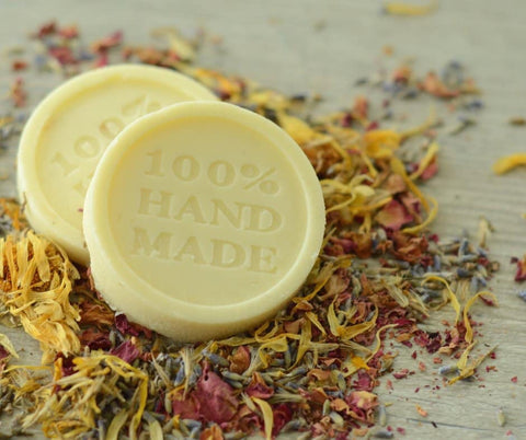 Lotion bars with infused calendula recipe