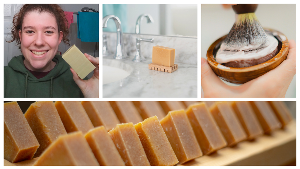 Sensitive skin benefits from goat milk soap from MadeOn Skin Care