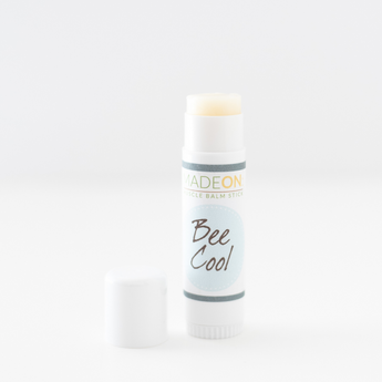 BeeCool menthol muscle rub stick by MadeOn helps relieve muscle pain with fewer than 8 ingredients