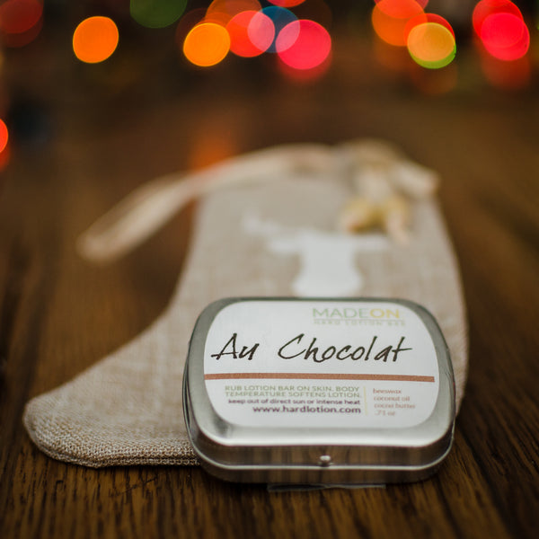 Au Chocolat Lotion Bars (choose a size)