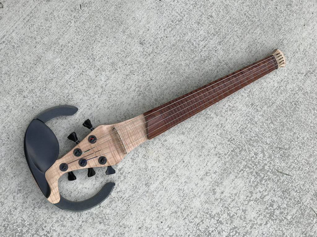 5 String Dragonfly - Scalloped Fingerboard