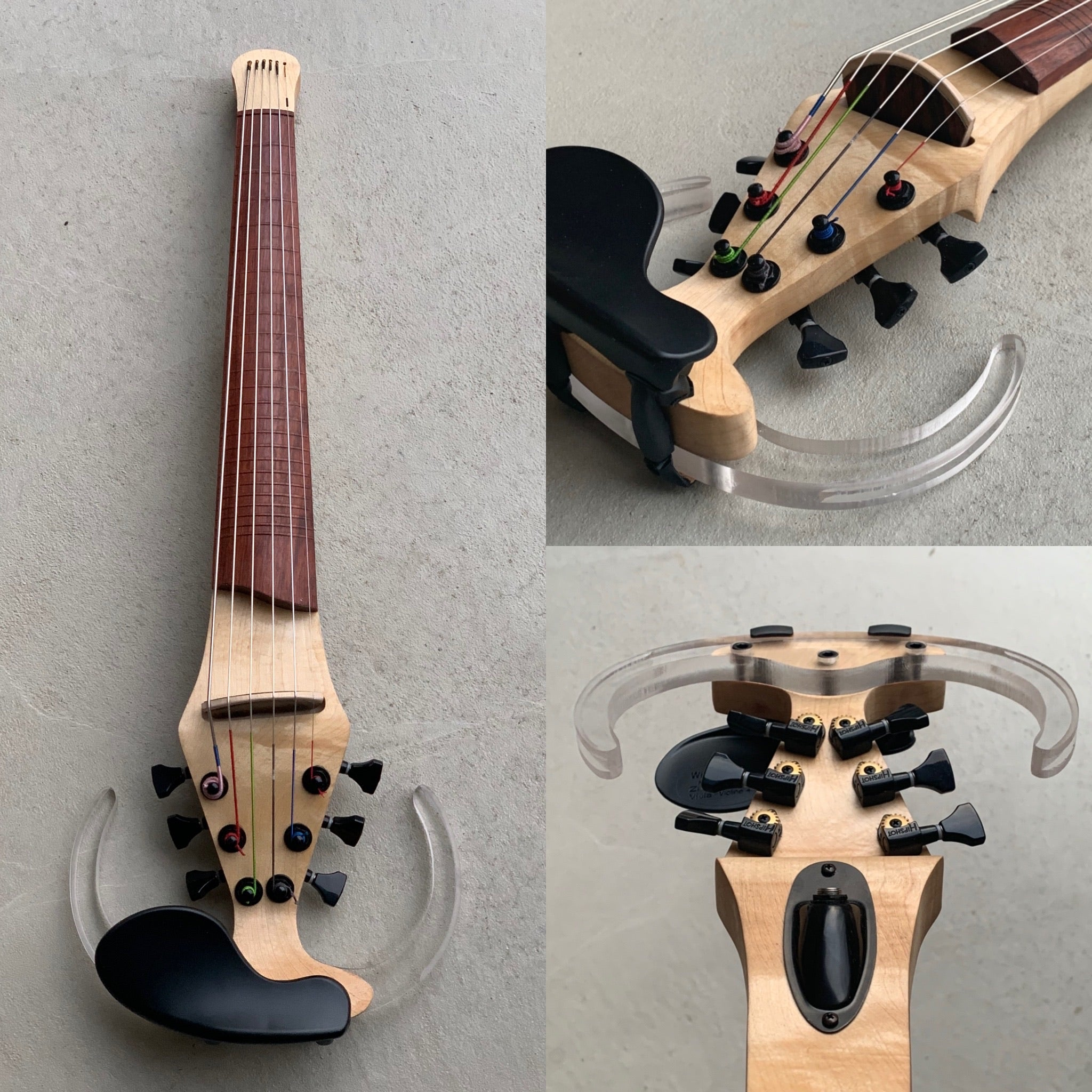 6 String Dragonfly- Wooden Frets
