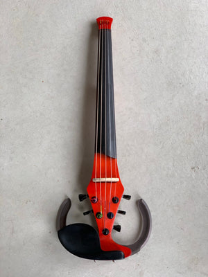 5 String Dragonfly Electric Violin - Red