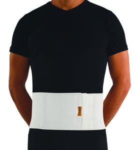"Uriel Meditex umbilical hernia belt provides relief when part of the intestine protrudes through an opening in your abdominal muscles.  Uriel umbilical hernia belt contains a circular shaped rubber ""bump"" that provides a non-elastic zone that helps to direct compression near belly button. Unisex."
