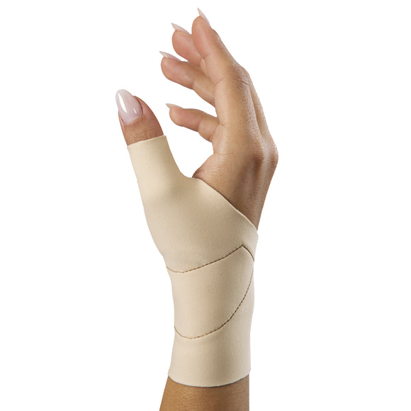 URIEL Thumb and Wrist Compression Sleeve with Silicone Pad | CMC or MCP Sprains