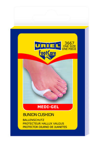 Uriel Silicone Bunion Cushion to relive bunions, bursitis, bony exostosis of toe