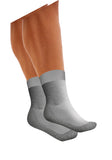 Uriel Light Silver Socks | Non-Binding, Super-Soft | Seamless, Anti-Bacterial Socks