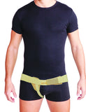 Uriel Meditex Inguinal Groin Hernia Belt contains a soft pad that applies gradual pressure and support to the weakened muscles of the groin with focused compression on the hernia. The inguinal hernia truss is designed to provide relief from a reducible inguinal hernia - post or pre-surgery. Will provide you with the support and comfort needed to maintain your active lifestyle. Can be used while swimming or showering. The belt has no metal parts which eliminates any potential embarrassment