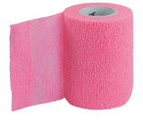 Pink Cohesive Bandage. Coband. Sports Medicine. Athletes of All Ages. compression and support of ligaments, tendons and muscles