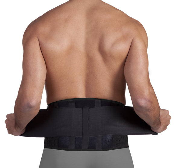 Uriel Meditex Active Neoprene Lumbar Back Support - One Size Fits 30-42 in.