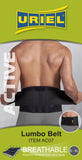 URIEL Active Neoprene Lumbar Back Support -  Sciatica and Lower Back Pain - One Size Fits 30-42 in.