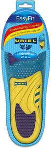 URIEL EasyFit Massaging and Shock Absorbing Insoles | Trim-to-Fit Pair | Anti-bacterial