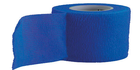 URIEL Cohesive Bandage | Self Adhesive Tape for Sports Injuries 3 cm x 2.5 m (1.2 in x 8.2 ft)