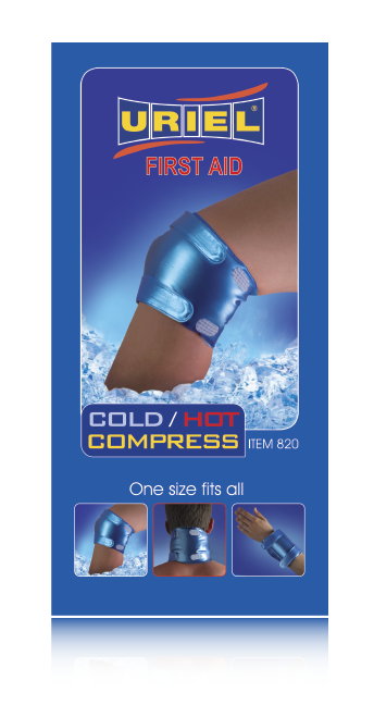 Uriel Ice & Go Cold / Hot Compression Wrap