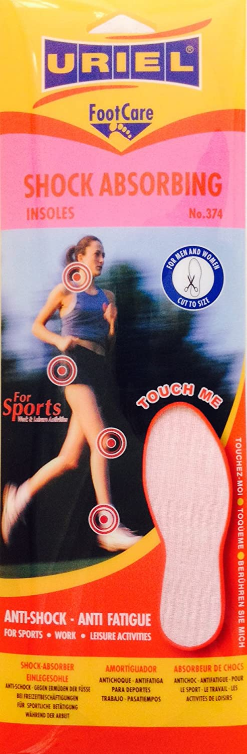 URIEL Athletic Shock Absorbing Insoles