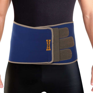 Uriel Thermo Neoprene Abdominal Belt for Post C-Section, Post Bariatric Surgery or Thermal Waist Trimmer. Provides compression and support for weak and strained abdominal muscles, often recommended after cesarean section, liposuction, bariatric surgery or hysterectomy.    Helps to reduces swelling, accelerates healing. May also be used as a waist trimmer or to improve posture.  Made of thick neoprene, with 100% cotton terry lining.
