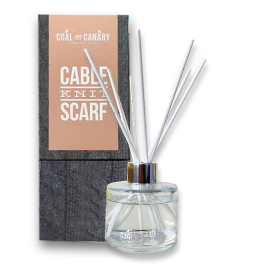 CABLE KNIT SCARF DIFFUSER
